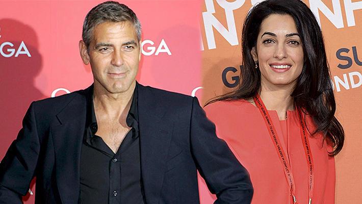 Невеста Джорджа Клуни выбирает платье для свадьбы