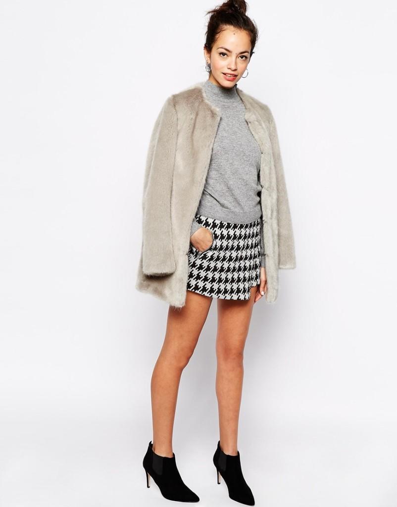 Юбка-шорты New Look, 1300 руб.
