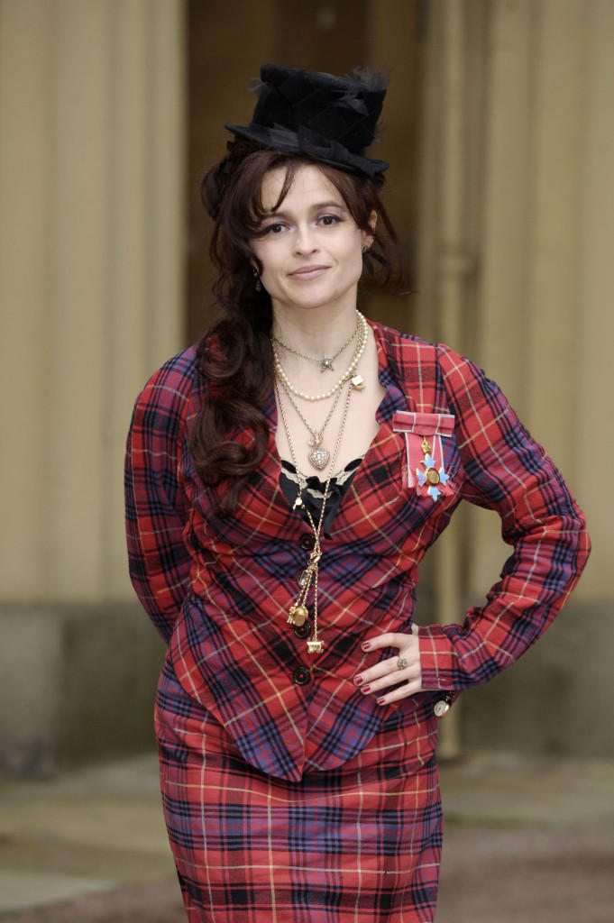 Helena Bonham Carter at CBE Medal Ceremony