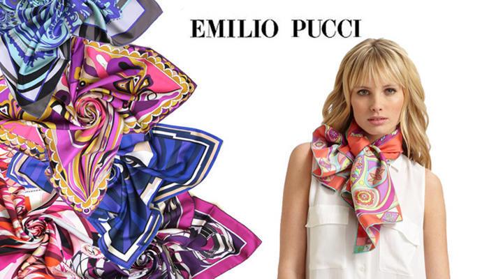 Emilio Pucci запускает коллекцию платков Cities of the World