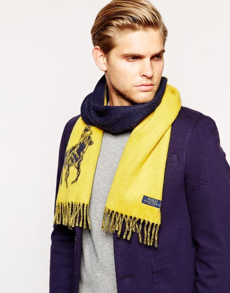Двусторонний шарф Polo Ralph Lauren, 5200 руб.