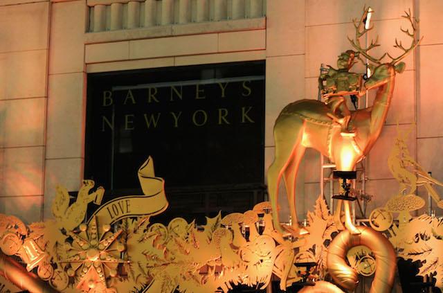 "Barneys New York ""Baz Dazzled"" Holiday Window Unveiling"