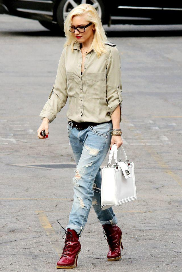 Gwen Stefani out and about in Los Angeles, America - 21 May 2013
