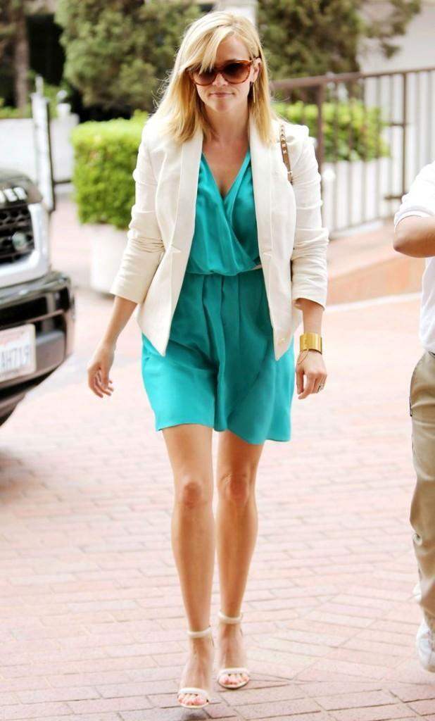 Reese Witherspoon out and about, Los Angeles, America - 12 Jun 2013