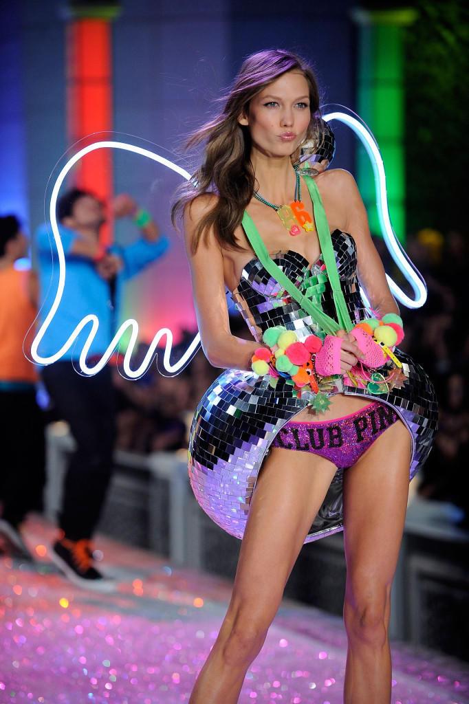 Karlie Kloss at Victoria's Secret Fashion Show in New York
