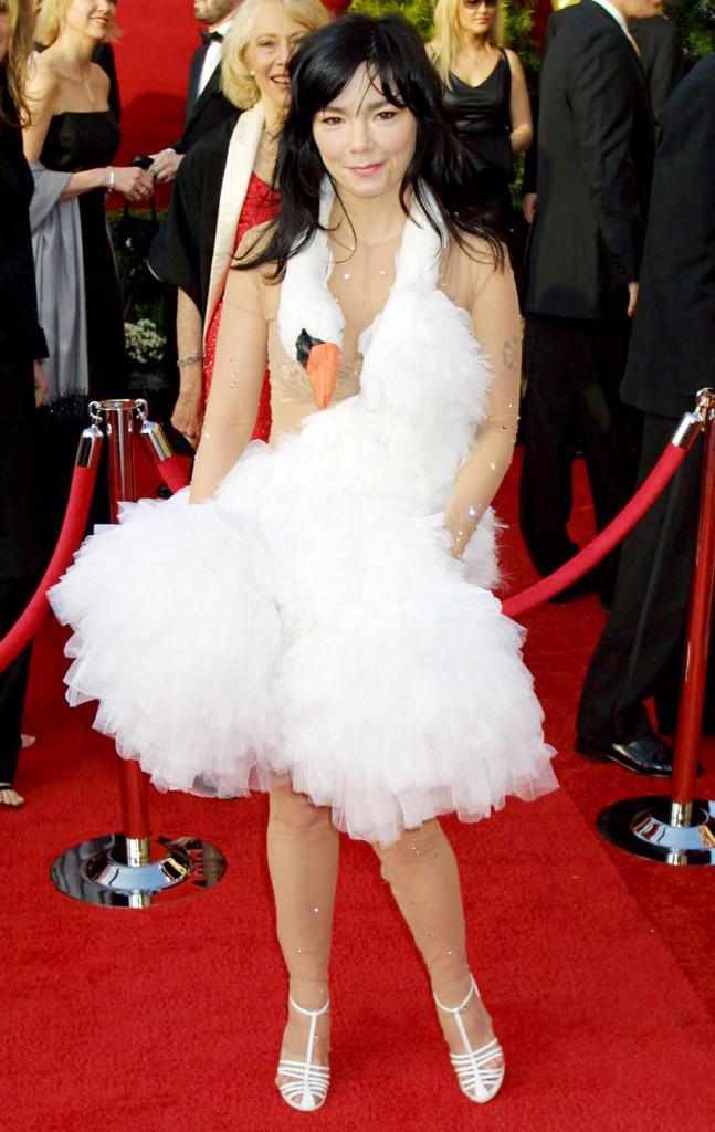 Bjork-swan-dress