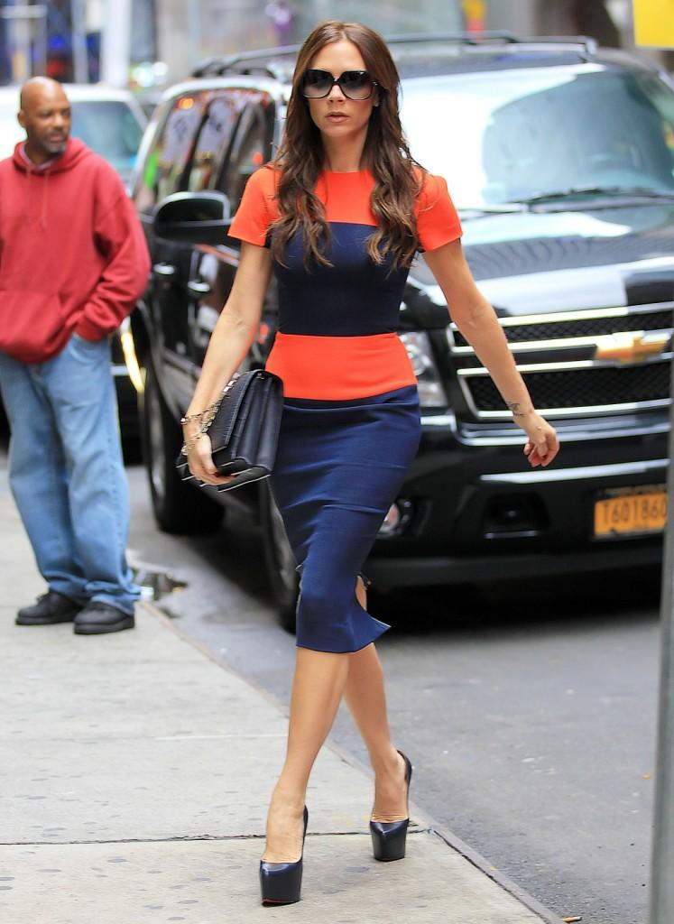 Victoria Beckham out and about in NYC