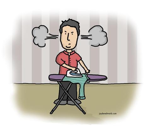 Steve-Ironing