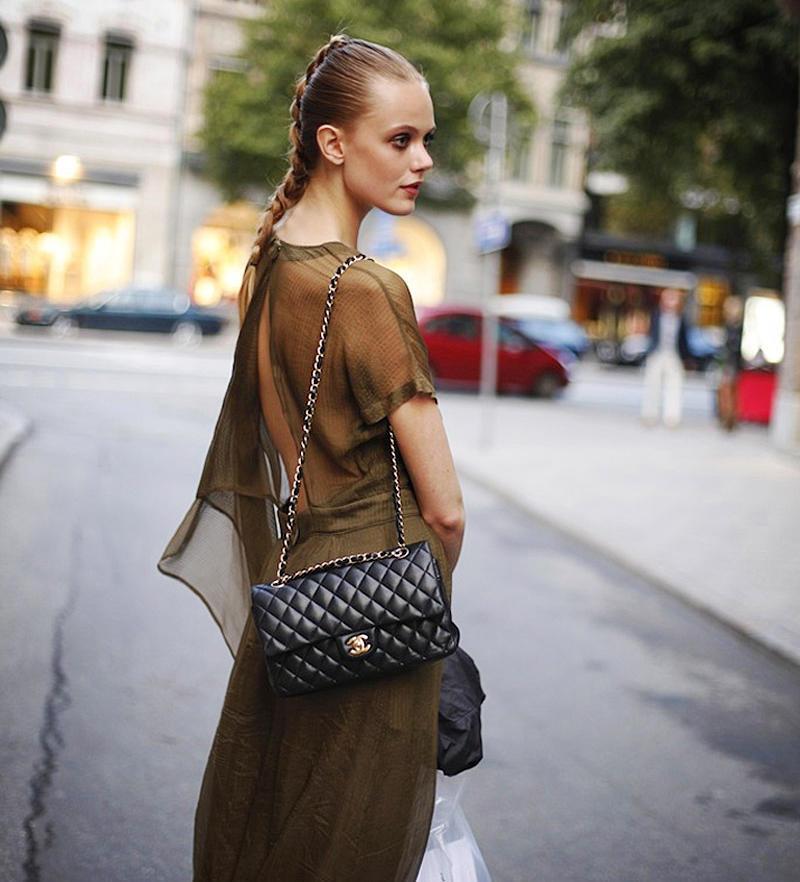 black-lambskin-chanel-classic-double-flap-bag-gold-hardware