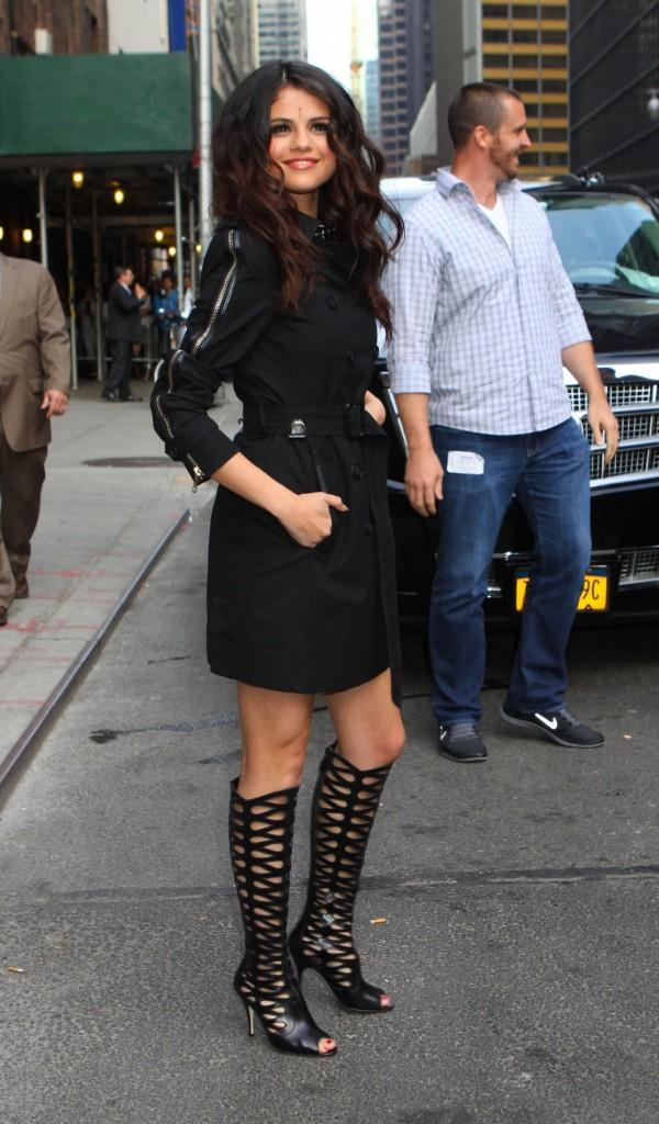 Celebrities at the Ed Sullivan Theatre for 'The Late Show With David Letterman'