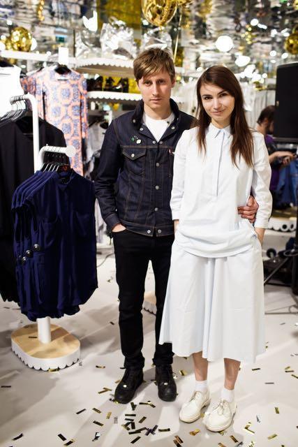 Alena Chandler and Alexei Kalabin