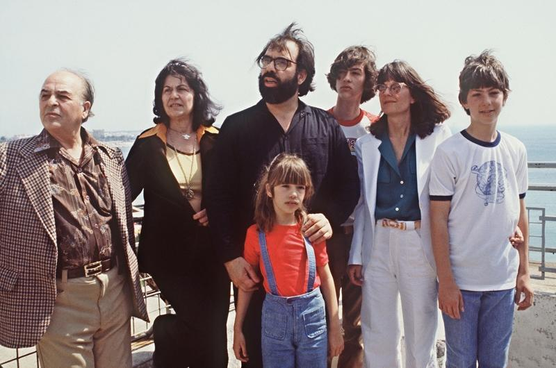 Francis Ford Coppola and his family._original