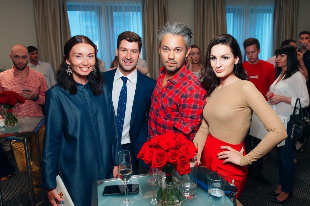 Железнякова Мария с супругом, Рогов Александр и Костина Катрин
