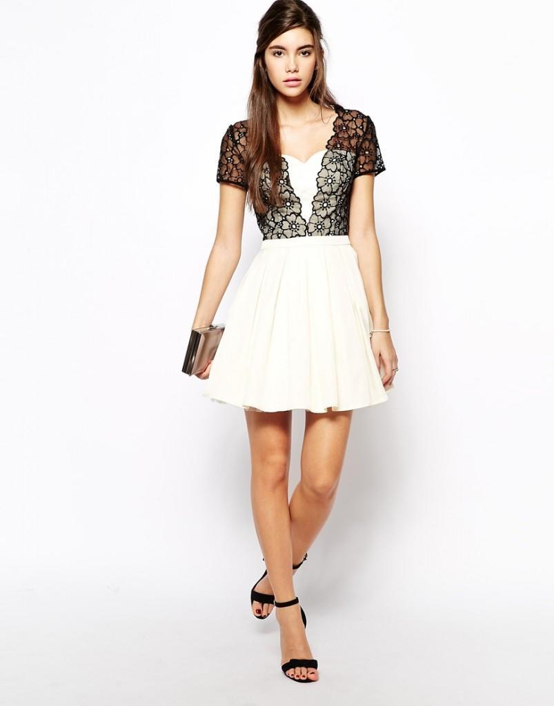 Платье для девушек с широкими плечами