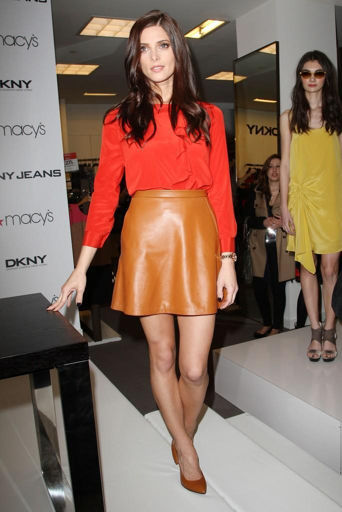 Macy's Welcomes Twilight Star and the Face of DKNY Ashley Greene to Herald Square