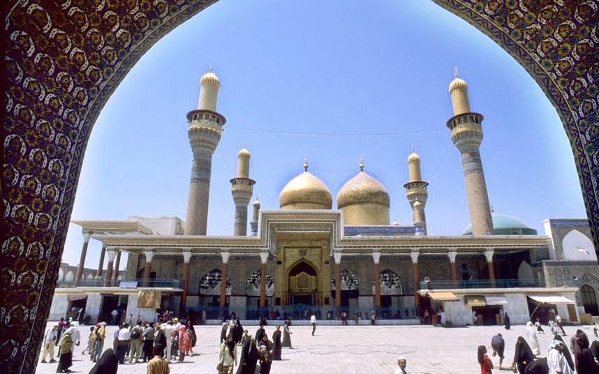 C7TRJJ Iraq, Baghdad. Kadhimain Shrine