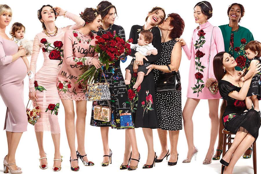 Dolce; Gabbana снова воспели итальянские традиции и семейные ценности
