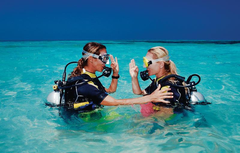 Diving course at Maldives Maldives Indian Ocean Medhufushi Meemu Atoll