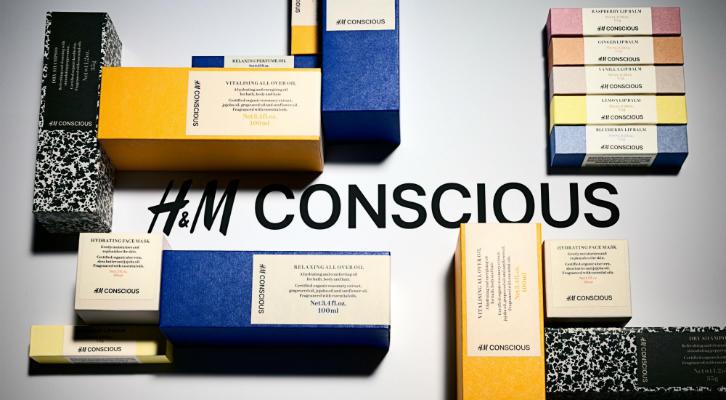H&M запускает линию органической косметики Conscious Beauty Collection