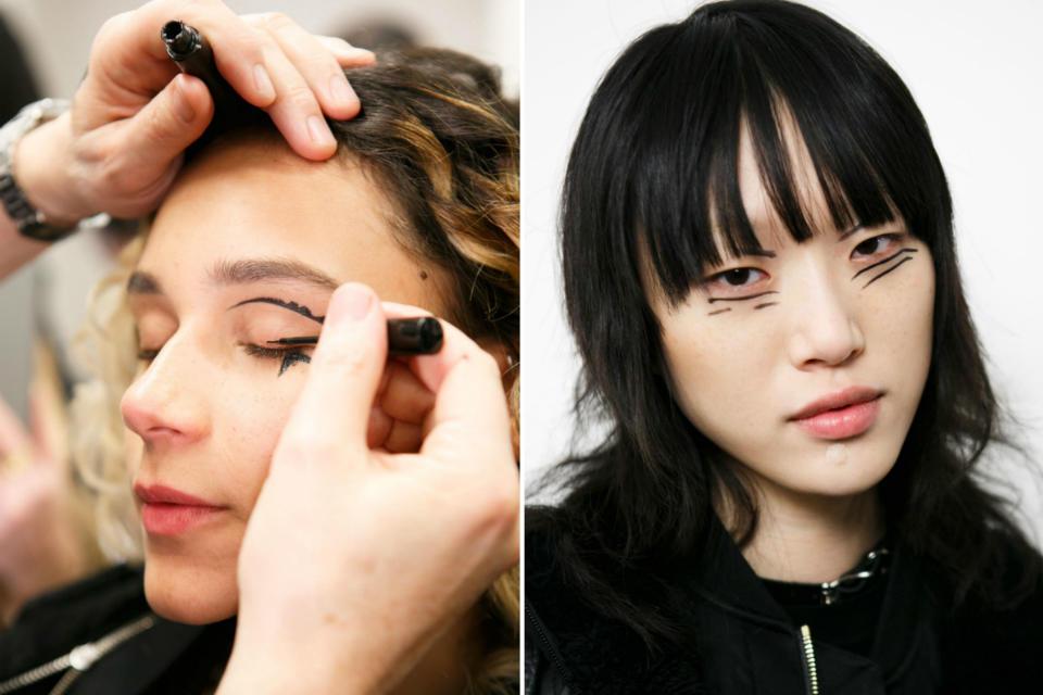 Инструкция: как повторить макияж с показов Недели моды в Нью-Йорке