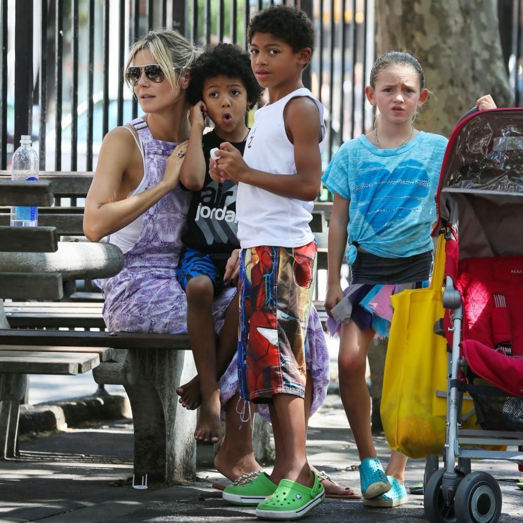 Хайди Клум – биография, личная жизнь и дети Хайди Клум, отношения с Силом