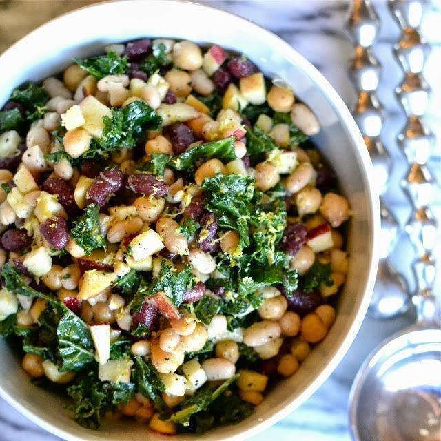 салат с белой фасолью консервированной фото