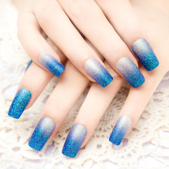 24-pcs-long-square-head-nail-tips-Blue-glitter-gradient-Fake-Nails-beautiful-Show-white-hand.jpg_640x640