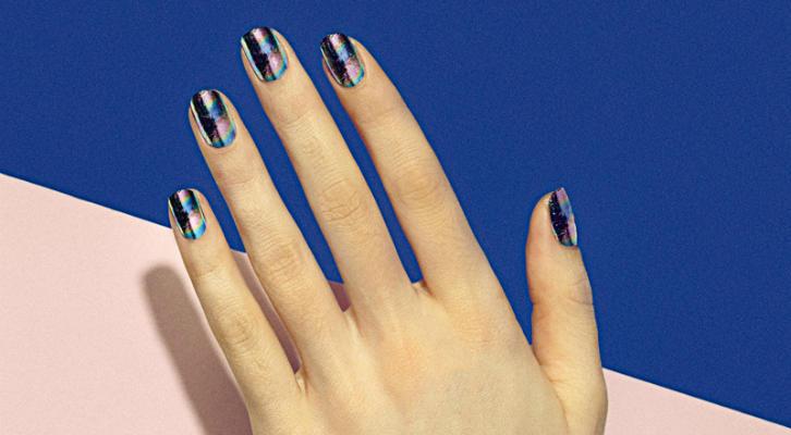Рисунки акриловыми красками на ногтях в домашних условиях для начинающих, фото