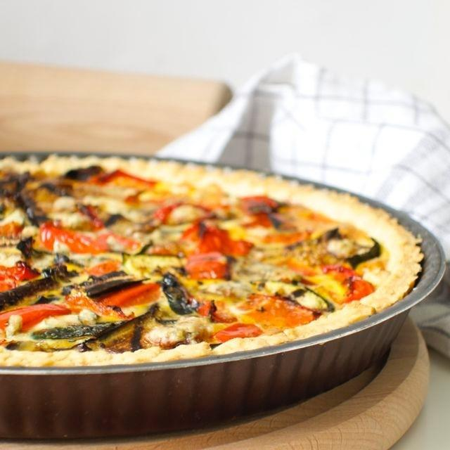 grilled-vegetables-quiche