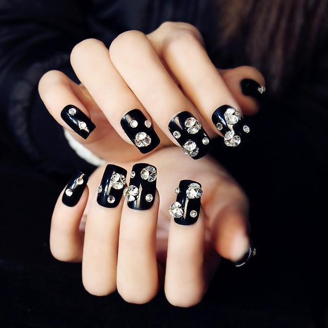 New-Arrival-Lady-Artificial-Black-Diamond-Fake-Nails-Full-Acrylic-Nail-Tips-False-Nails-3d-Design.jpg_640x640
