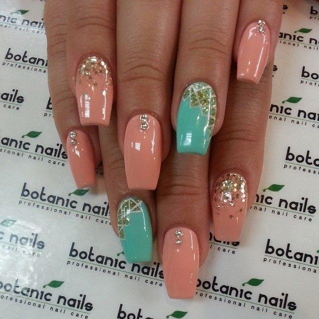Party-acrylic-nail-designs-2015