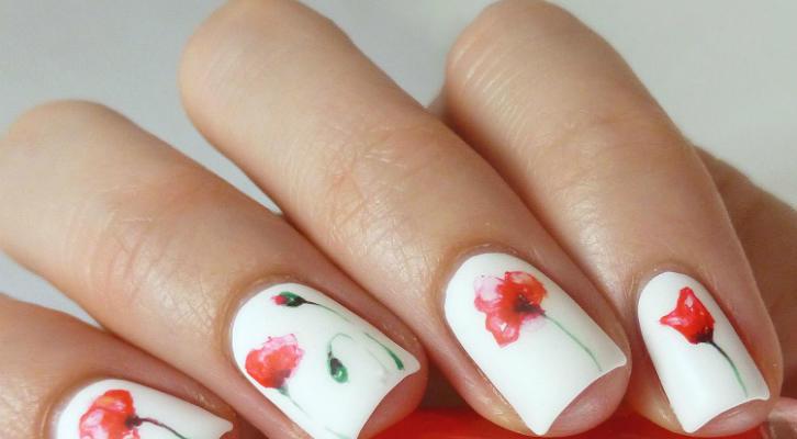 Маки на ногтях – как сделать маникюр с маками