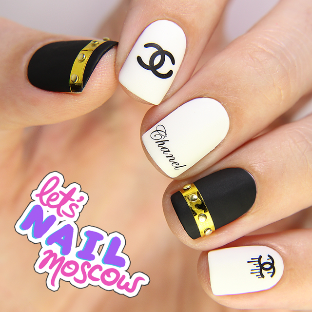 chanel nails trendy nail design fashion nail art brand runway mani let's nail Moscow _______ ______ ____ __________ _____ __________ _______ _______ _____-_____ ______2