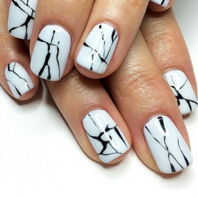 Мозаика на ногтях – как сделать маникюр с дизайном мозаики на ногтях