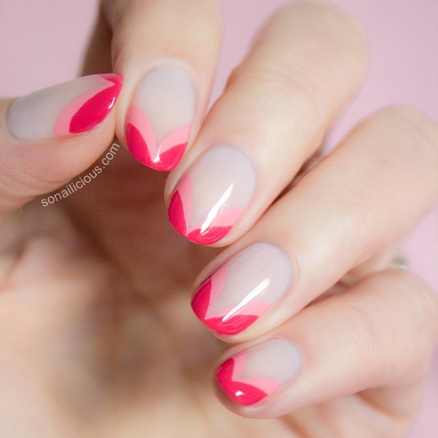 double-heart-french-nails