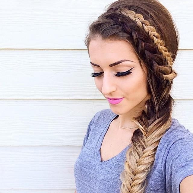 fishtail-braid-for-ombre-hair-2017