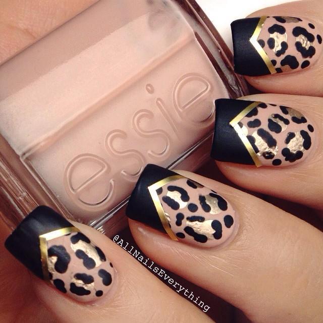 leopard-print-nail-design-allnailseverything