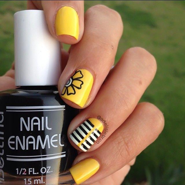 yellow-nail-design5