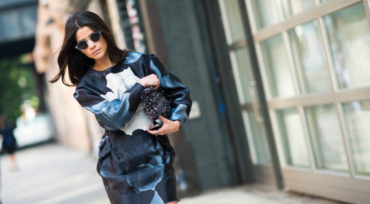 new-york-fashion-week-spring-2014-street-style-blue-floral-dress