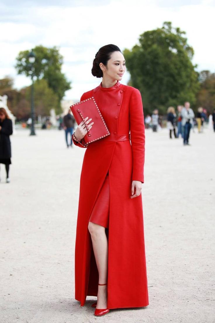 26ff36ab8be7 Красное платье – с чем носить красное платье