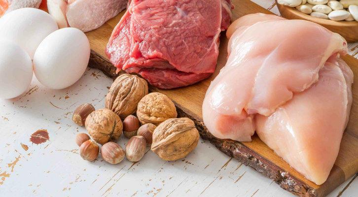 Разное меню белковой диеты