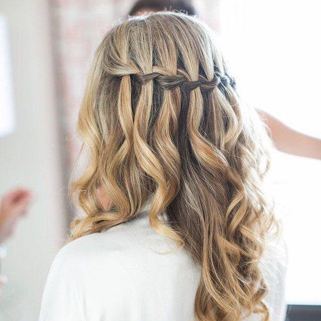 Коса + волны — то что нужно для  первого свидания.