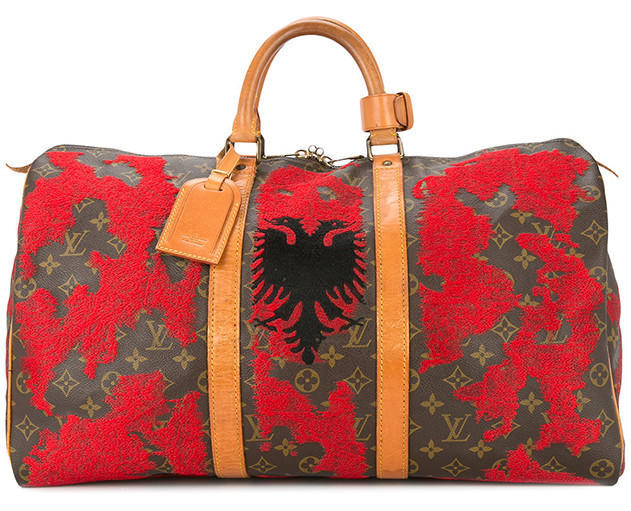 JAY AHR Albania flag vintage Louis Vuitton keepall - Available at Farfetch.com (37)