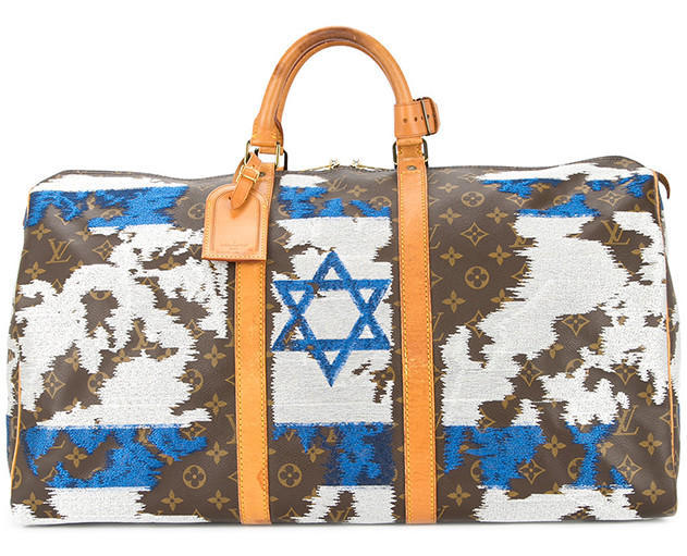 JAY AHR Israel flag vintage Louis Vuitton holdall - Available at Farfetch.com (20)