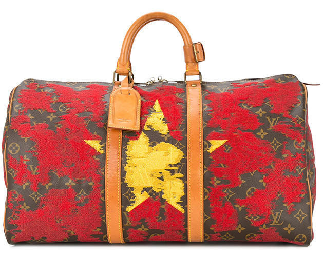 JAY AHR Vietnam flag vintage Louis Vuitton keepall - Available at Farfetch.com (29)
