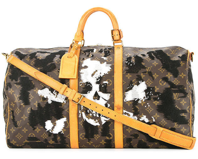 JAY AHR skull and crossbone vintage LVMH holdall - Available at Farfetch.com (6)
