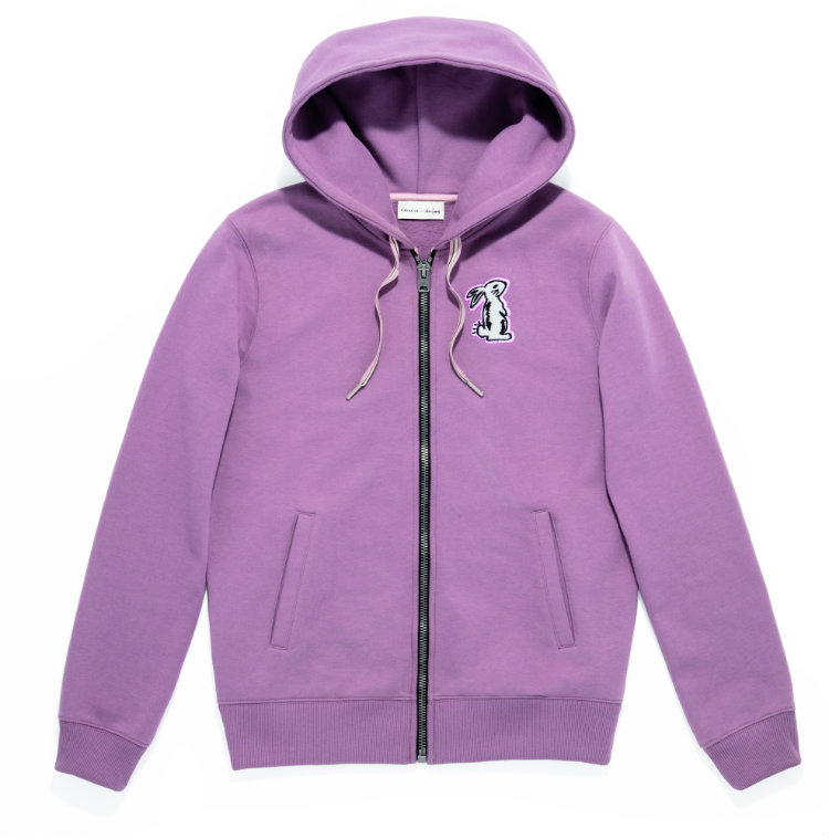 Coach x Selena Gomez_39277_Embellished Hoodie_Lilac