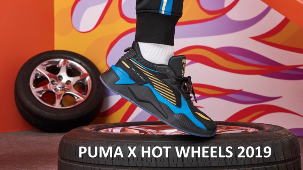Коллаб с характером: коллекция Puma x Hot Wheels